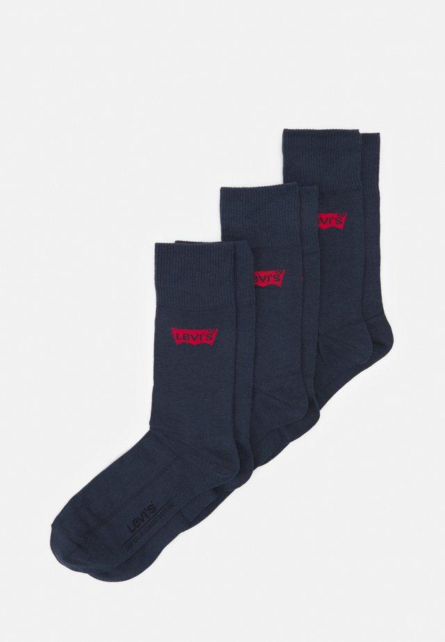 REGULAR CUT BATWING LOGO 6 PACK - Socks - dark denim