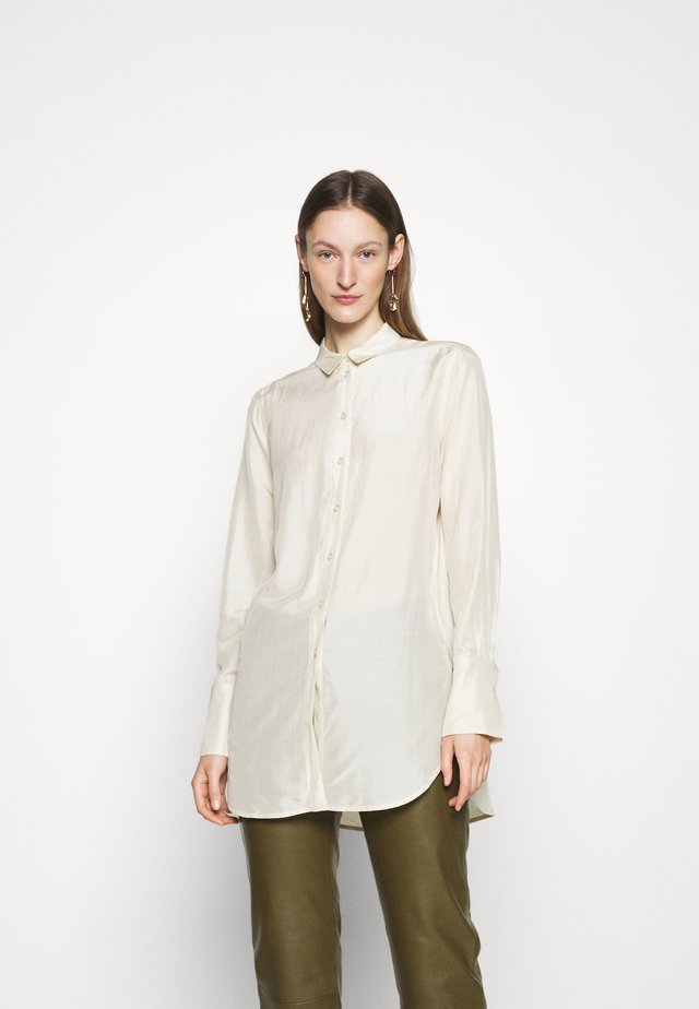 COLOGNE - Button-down blouse - cream