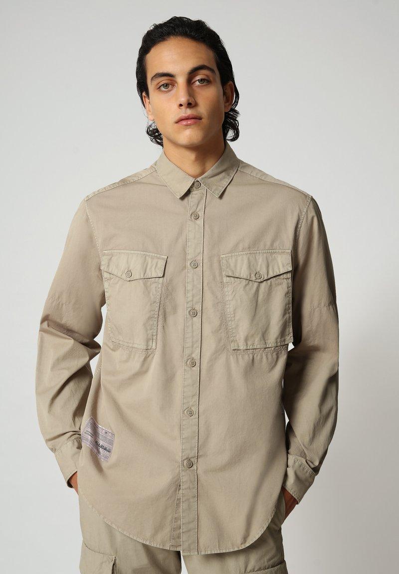 Napapijri - Shirt - silver sage