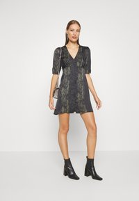 AllSaints - KOTA MASALA DRESS - Hverdagskjoler - forest green - 1
