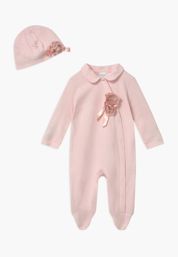 GIFT-BOX ROSA CON FIOCCO SET - Baby gifts - rosa