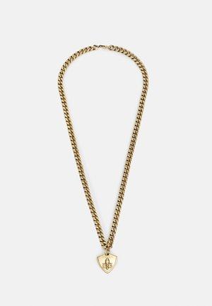 CURB SHIELD UNISEX - Collar - antique gold-coloured
