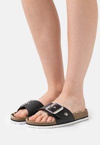 TOM TAILOR - Pantofle - black - 0