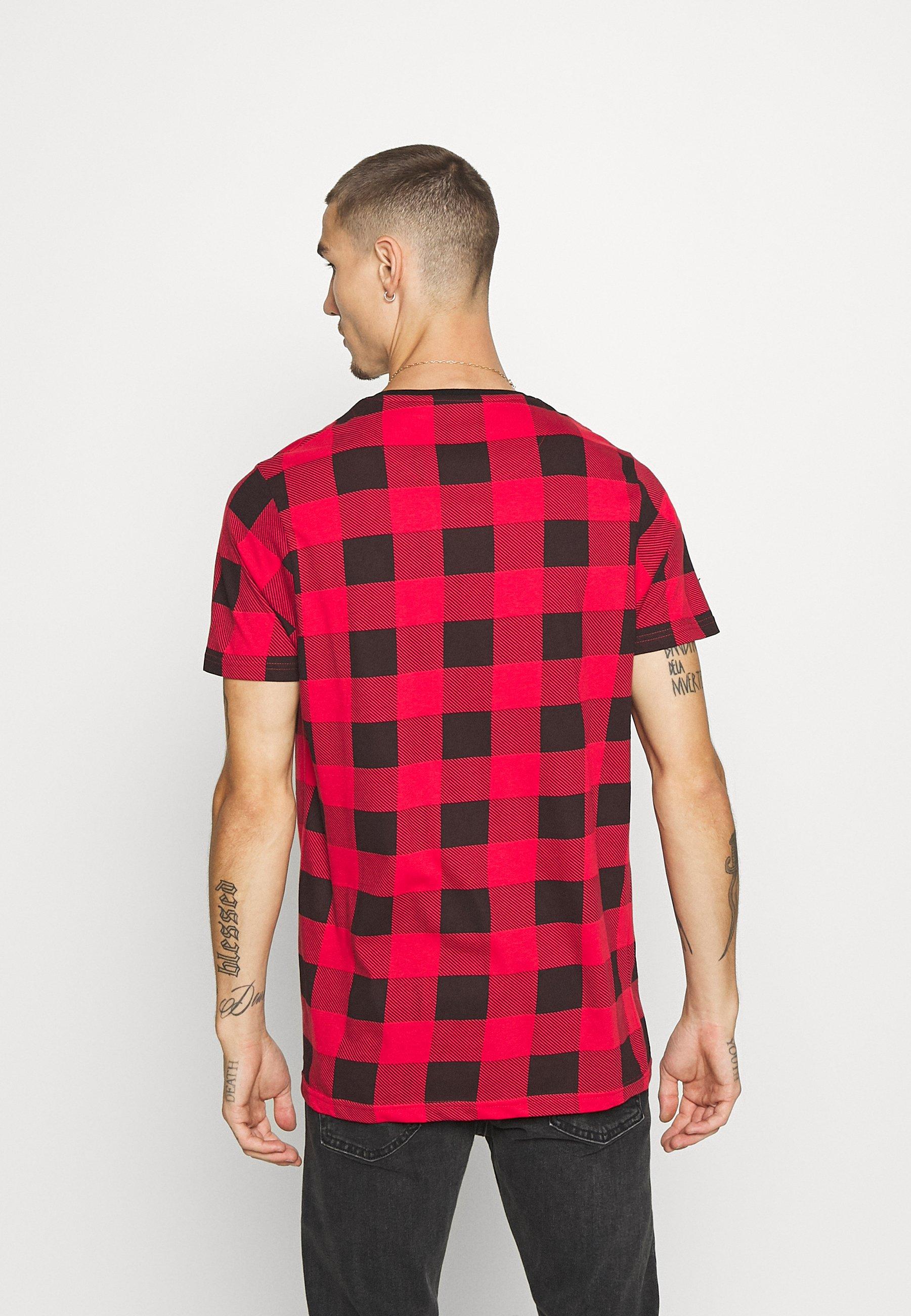 Brave Soul Derulo - T-shirts Med Print Red/black/rød