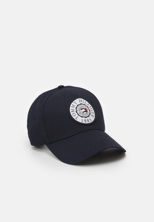 ROUND PATCH UNISEX - Cap - blue