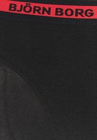 Björn Borg - NEON SOLID SAMMY 7 PACK - Underkläder - black beauty - 7