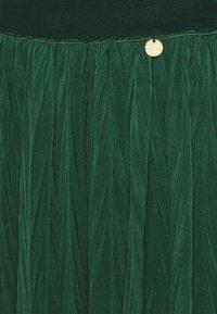 Rich & Royal - A-line skirt - emerald green - 2
