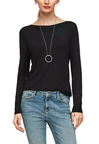 s.Oliver - Jumper - black - 5