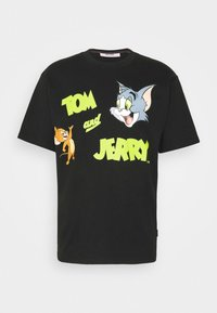 TOM & JERRY TEE - Print T-shirt - black