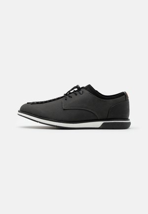 VEGAN GAYLIAN - Casual lace-ups - black