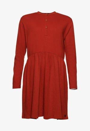 MINI DRESS - Jersey dress - rooibos tea