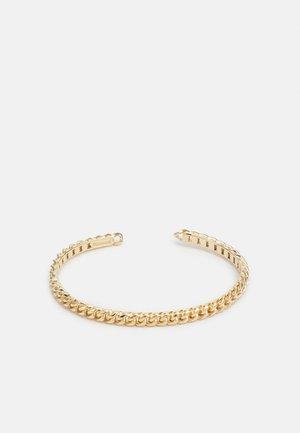 CUBAN LINK CUFF - Bracelet - polished gold-coloured