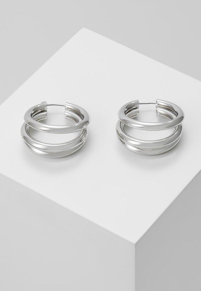 WIN TUBE HOO - Orecchini - silver-coloured