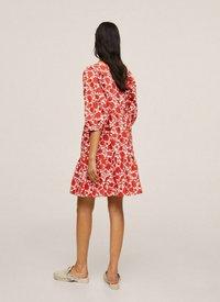 Mango - Day dress - rød - 2