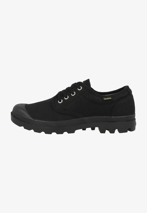 VEGAN PAMPA OXFORD ORIGINAL UNISEX - Matalavartiset tennarit - black