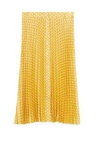 Violeta by Mango - POLKA DOTS - Pleated skirt - gelb - 0
