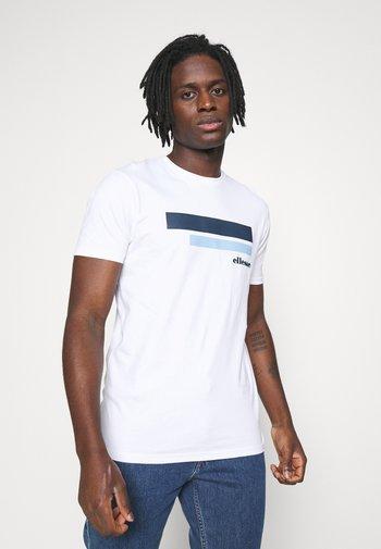 RIAN - T-shirt imprimé - white