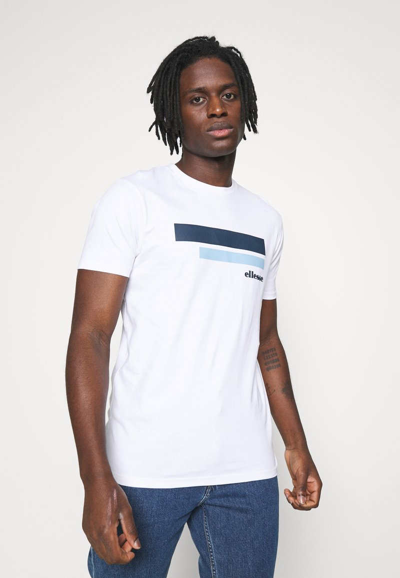 Ellesse - RIAN - Print T-shirt - white
