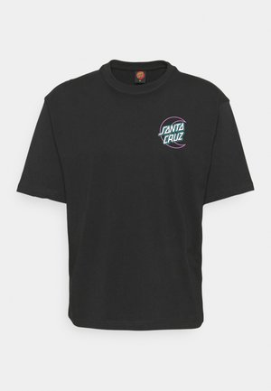 EMPTY MOON DOT UNISEX  - Print T-shirt - black