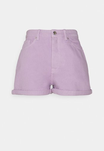 ONLBAY MOM - Shorts di jeans - orchid bloom