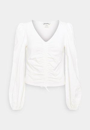 ULLE - Långärmad tröja - white light