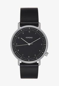 Komono - LEWIS - Watch - black/silver-coloured - 1
