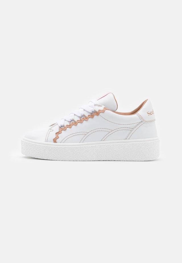 SEVY - Sneakers laag - open pink