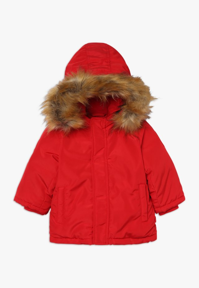 Down coat - chily red