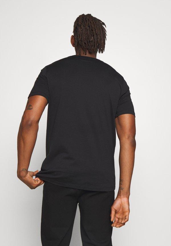 HUGO DURNED - T-shirt basic - black/czarny Odzież Męska XOMO