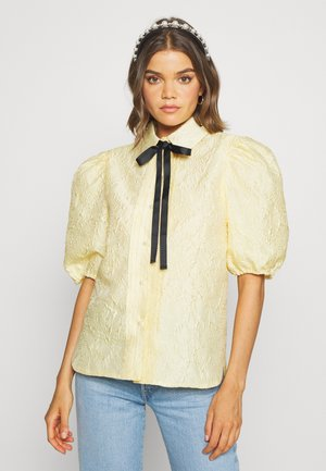 BUTTERCUP PUFF SLEEVE SHIRT - Blouse - yellow
