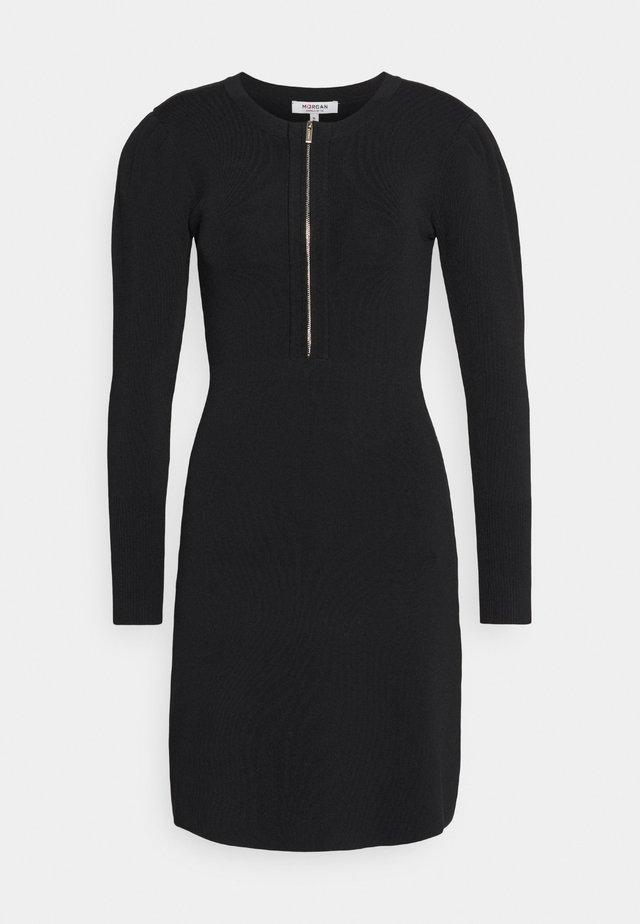 RMALA - Pletené šaty - noir