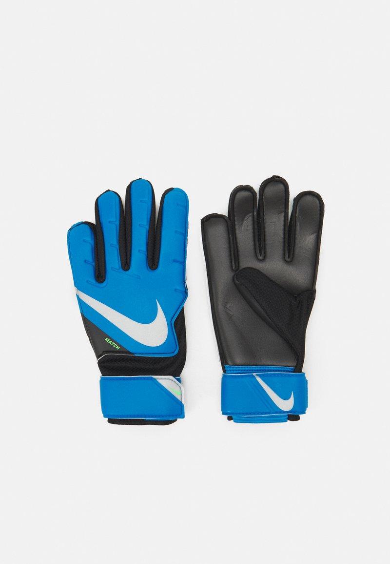 Nike Performance - GOALKEEPER MATCH - Brankářské rukavice - photo blue/black/silver