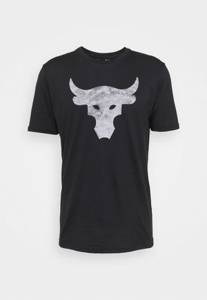 ROCK BRAHMA BULL - Print T-shirt - black/offwhite