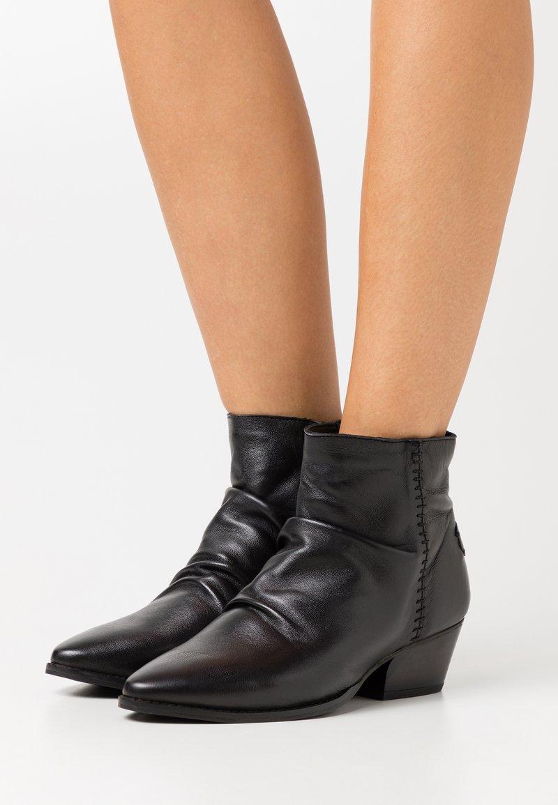 Musse & Cloud - BERINA - Ankelboots - black