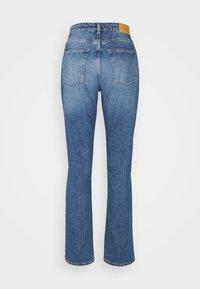 Monki - MOLUNA JEANS - Straight leg jeans - blue medium dusty - 6