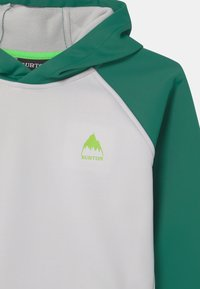 Burton - CROWN WEATHERPROOF UNISEX - Hoodie - antique green/lunar gray - 2