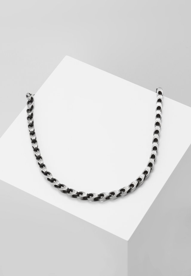NECKLACE STATEMENT - Necklace - silver-coloured