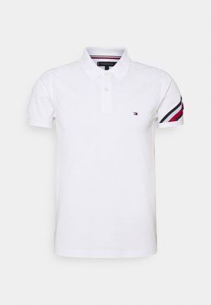 SLEEVE TAPE - Polo shirt - white
