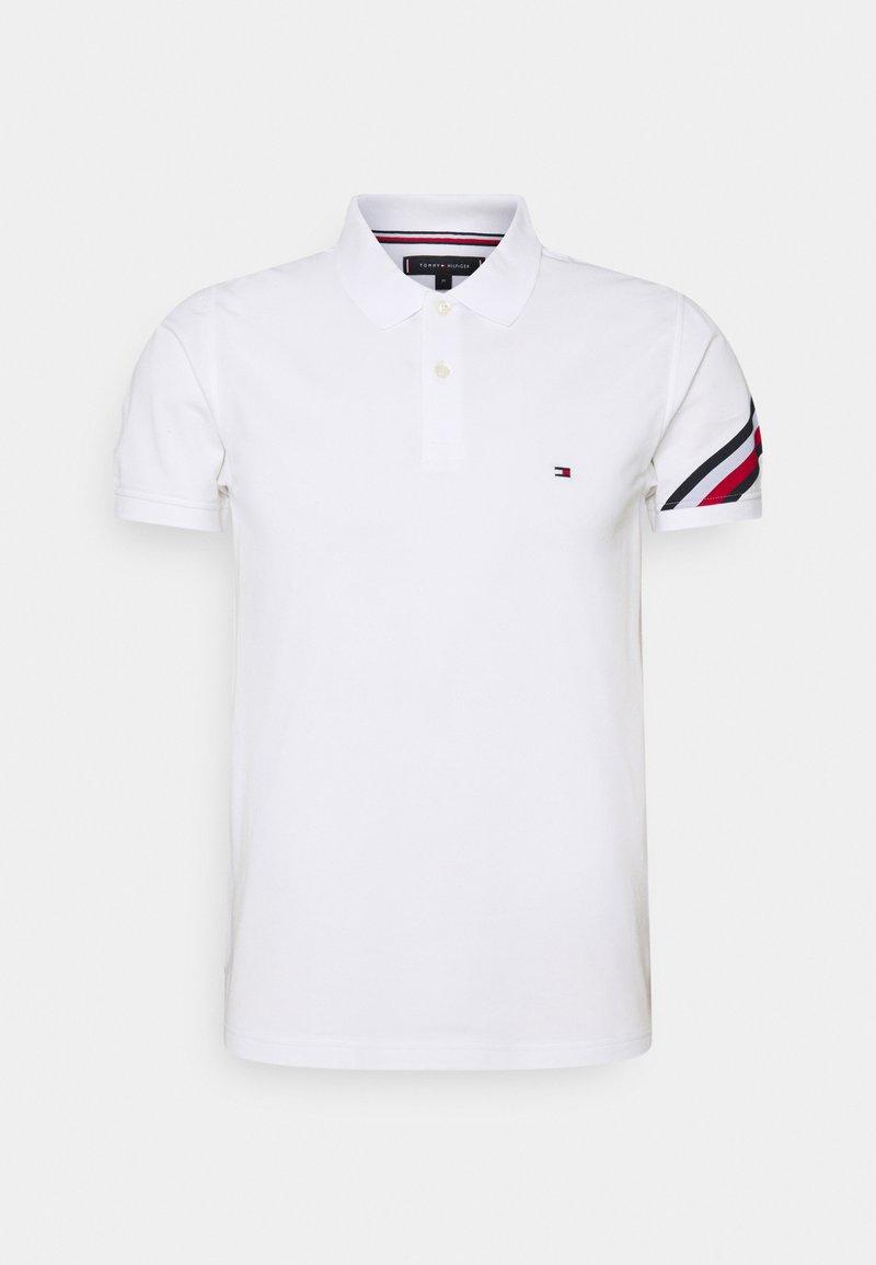 Tommy Hilfiger - SLEEVE TAPE - Poloshirt - white