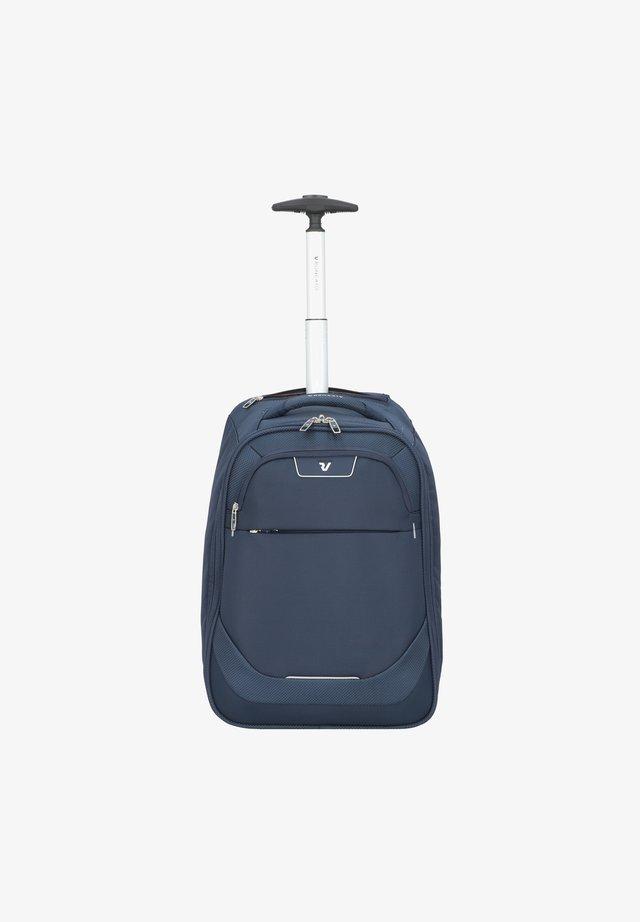 JOY - Wheeled suitcase - blu notte