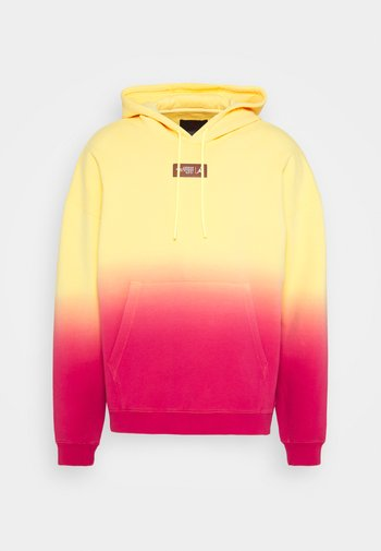 Sweatshirt - citron pulse/hyper pink/laser orange