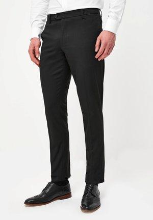 WITH STRETCH - Pantalon de costume - black