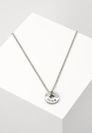 CONTOUR NECKLACE - Ketting - silver-coloured