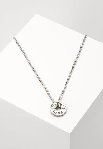CONTOUR NECKLACE - Halsband - silver-coloured