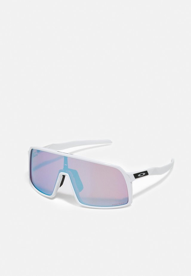 SUTRO UNISEX - Sportbrille - polished white