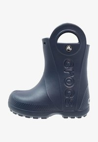 Crocs - HANDLE IT RAIN BOOT KIDS - Bottes en caoutchouc - navy - 1
