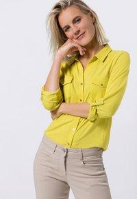 zero - Button-down blouse - yellow lime - 0