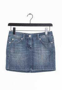 TOM TAILOR DENIM - Spódnica jeansowa - blue - 0