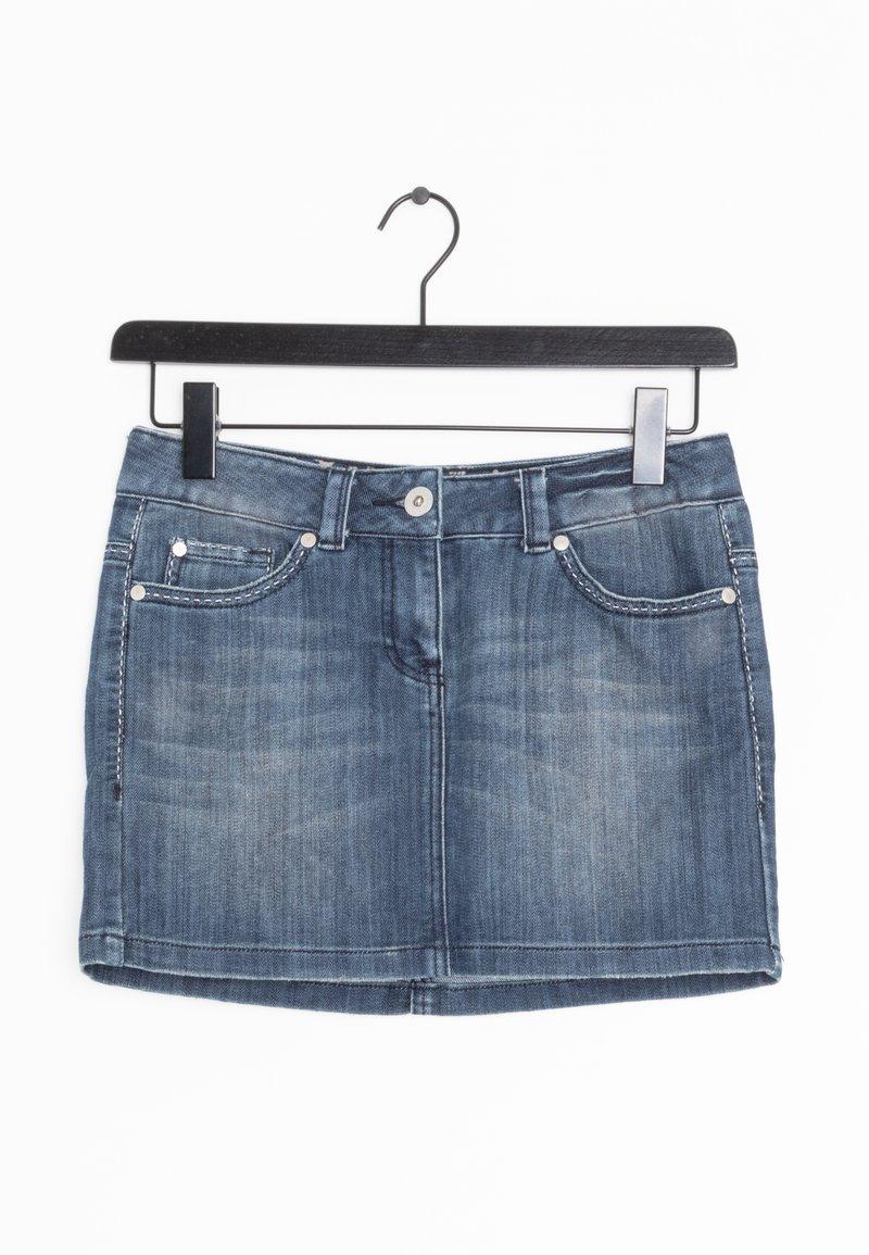 TOM TAILOR DENIM - Spódnica jeansowa - blue