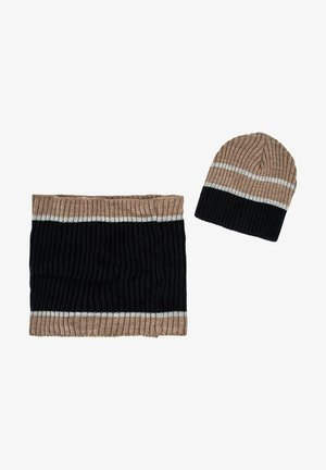 SET - Sjaal - brown